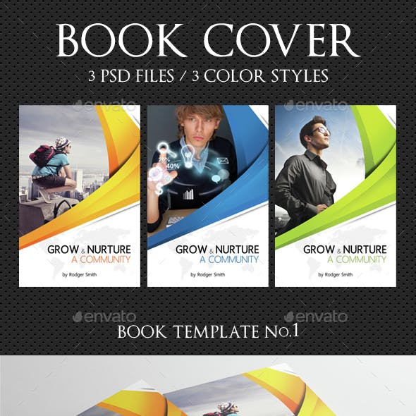 Book Cover Template 07