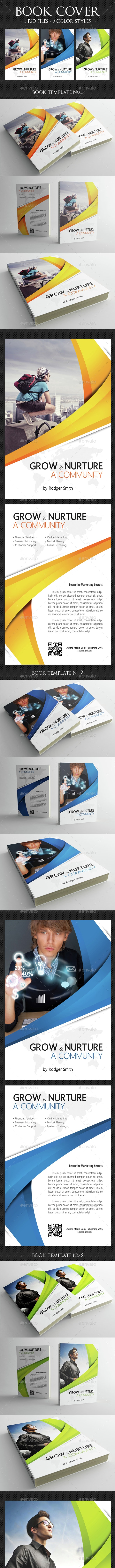 Book Cover Template 07 - Miscellaneous Print Templates