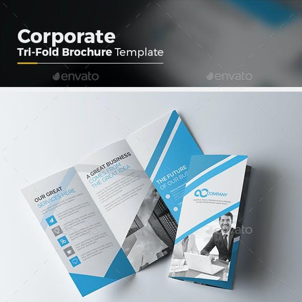 Corporate Tri fold Multipurpose Brochure