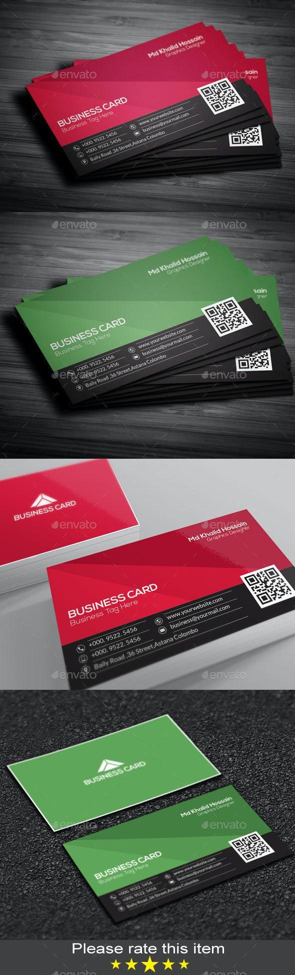 Creative Identity Business Card - Creative Business Cards