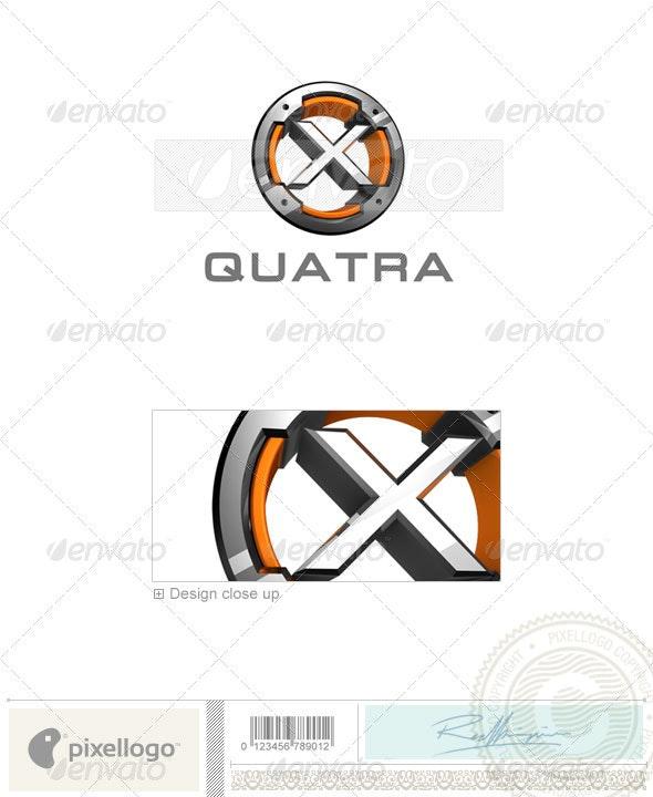 X Logo - 3D-494-X - Letters Logo Templates