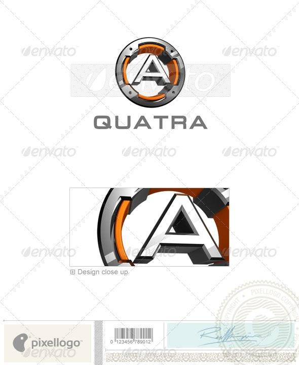 A Logo - 3D-494-A - Letters Logo Templates