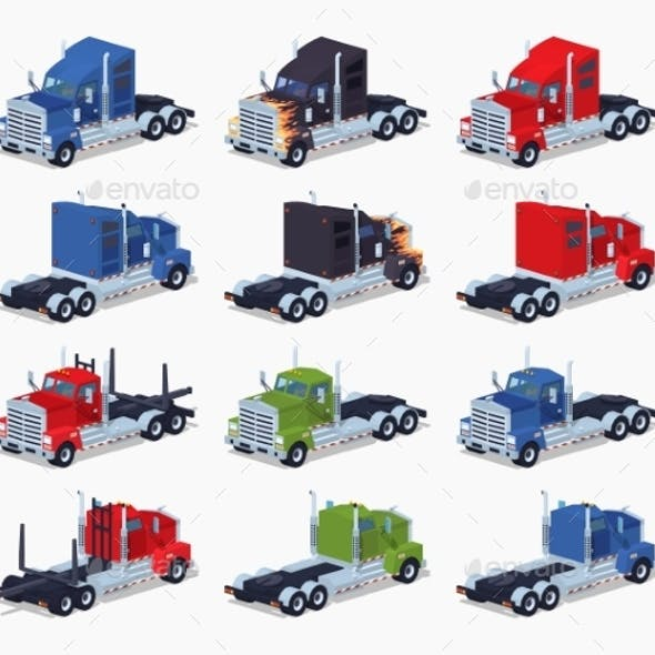 Collection of Heavy Trucks