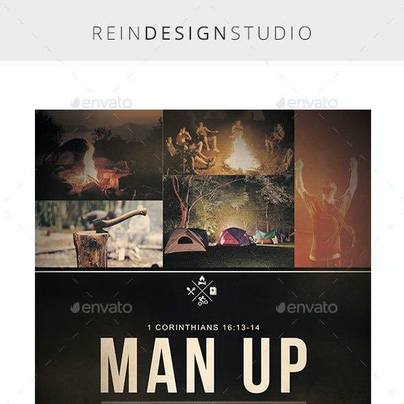 Man Up Men's Retreat