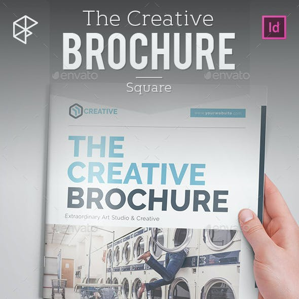 The Creative Brochure - Square