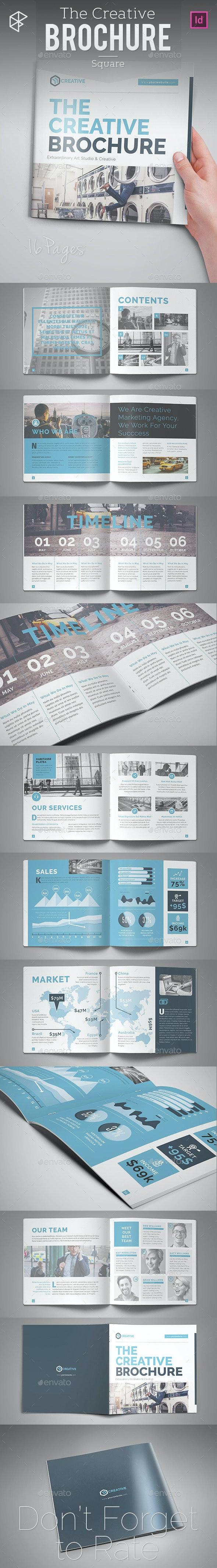 The Creative Brochure - Square - Corporate Brochures