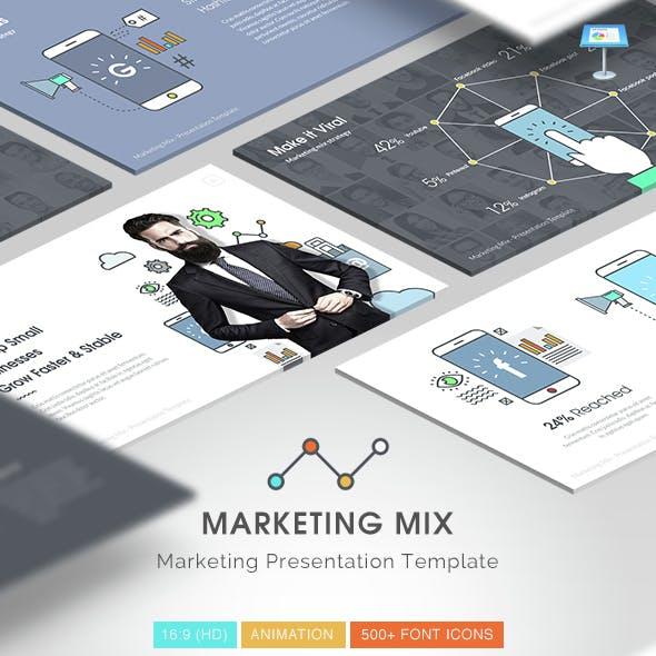 Social Media Mix - Creative Powerpoint Template