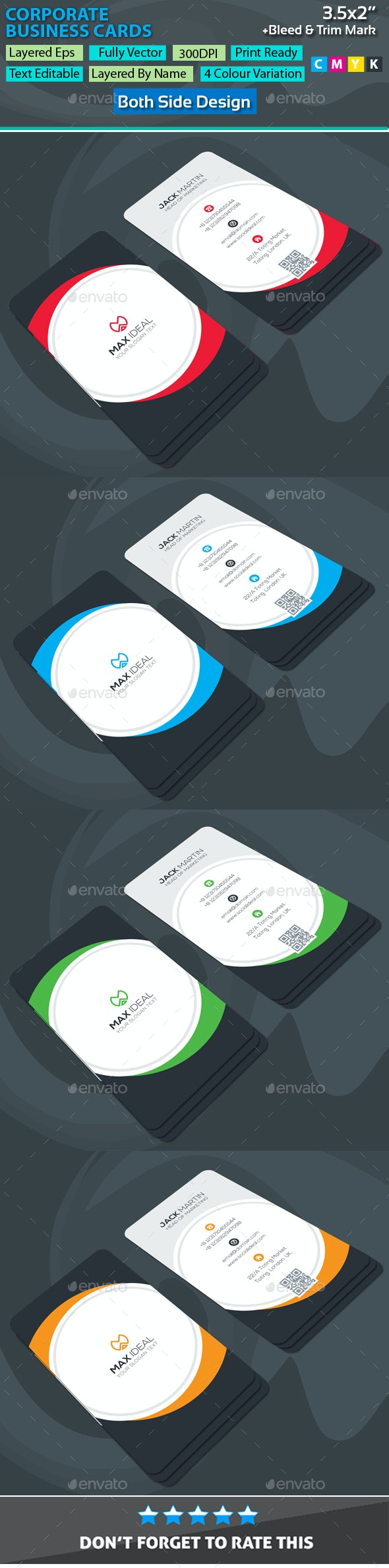 Maxideal Corporate Business Cards - Corporate Business Cards