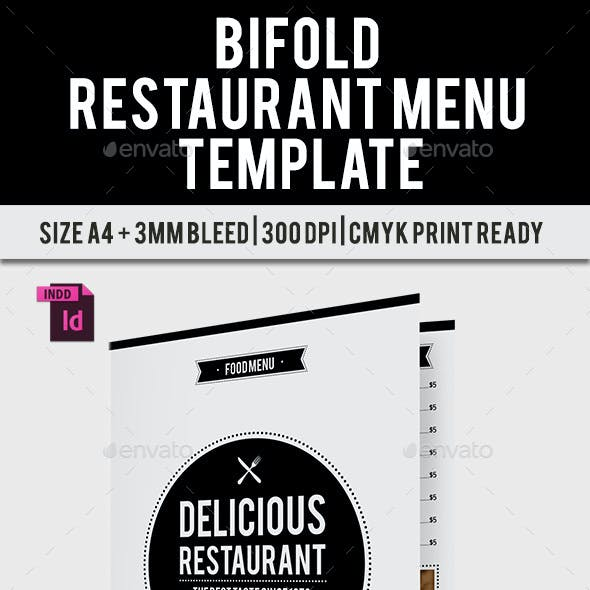 BiFold Restaurant Menu Vol. 9