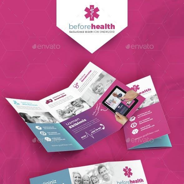 Health Tri-Fold Templates