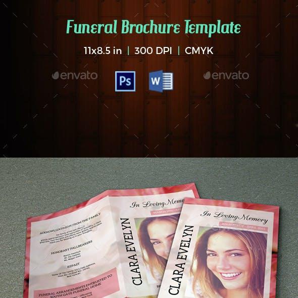 Funeral Program Template-V29