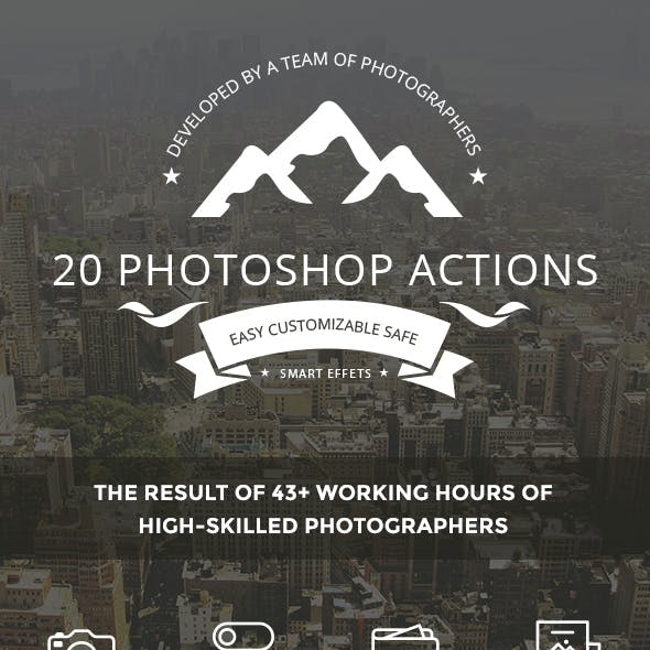 20 Photoshop Actions