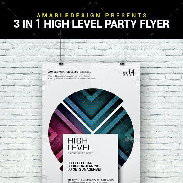 3 in 1 High Level Flyer/Poster Bundle