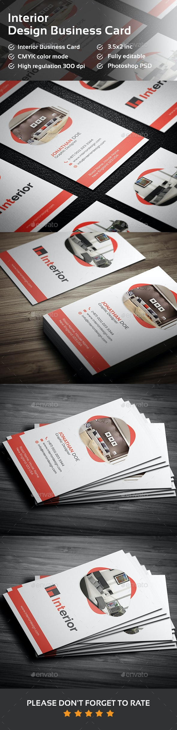 Interior Design Business Card - Creative Business Cards