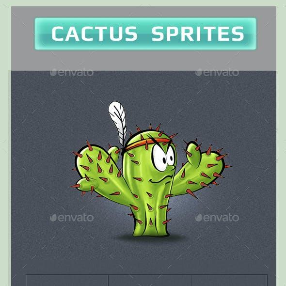 Cactus Sprites