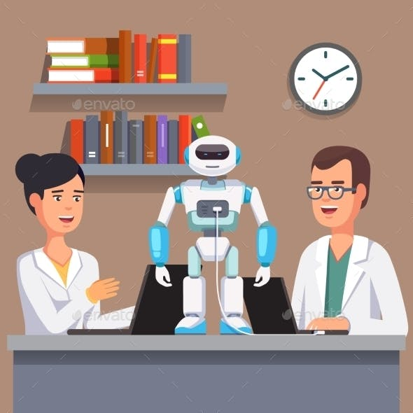 Researchers Programming Humanoid Bipedal Robot