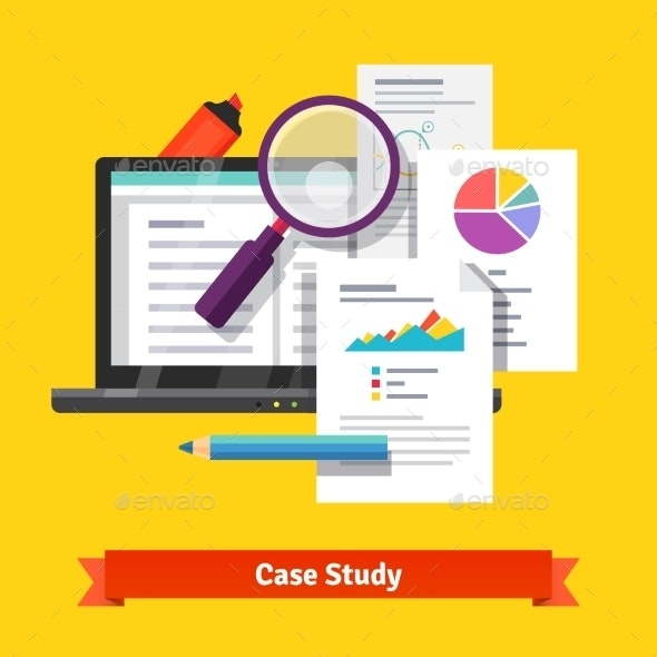 Case Study Research Concept - Computers Technology