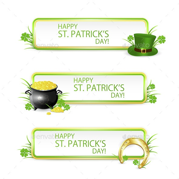 Patricks Day Banners - Miscellaneous Seasons/Holidays