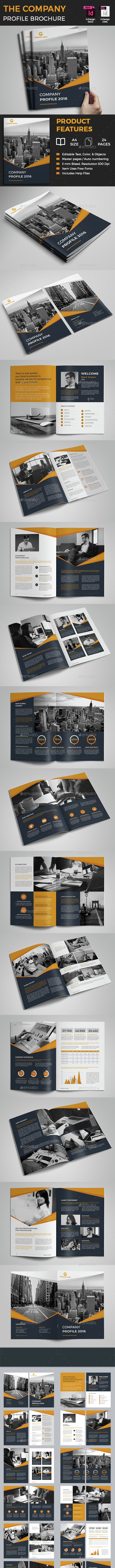 The Company Profile - Corporate Brochures
