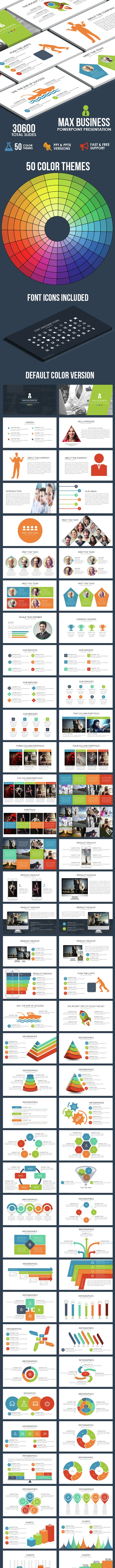 Max Business Powerpoint Template - Business PowerPoint Templates