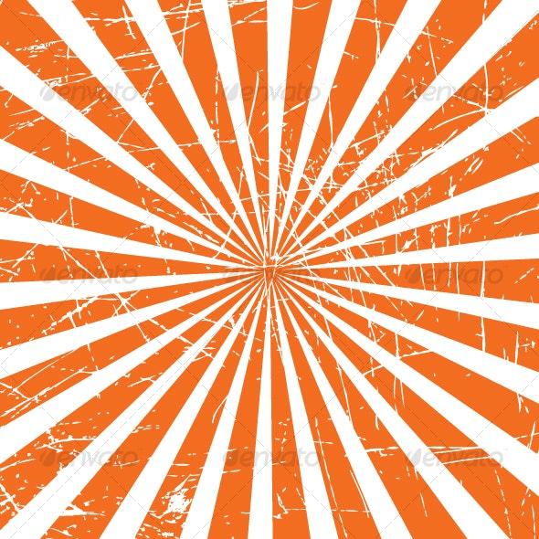 Grunge Rays Background - Backgrounds Decorative