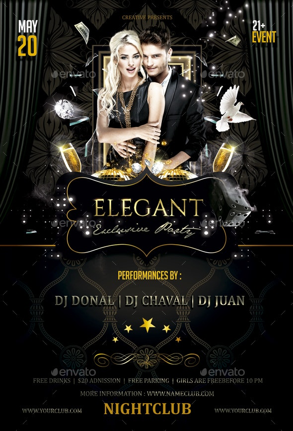Elegant Party - Clubs & Parties Events