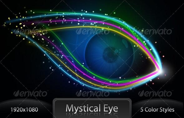 Magical Eye wallpaper - Backgrounds Decorative