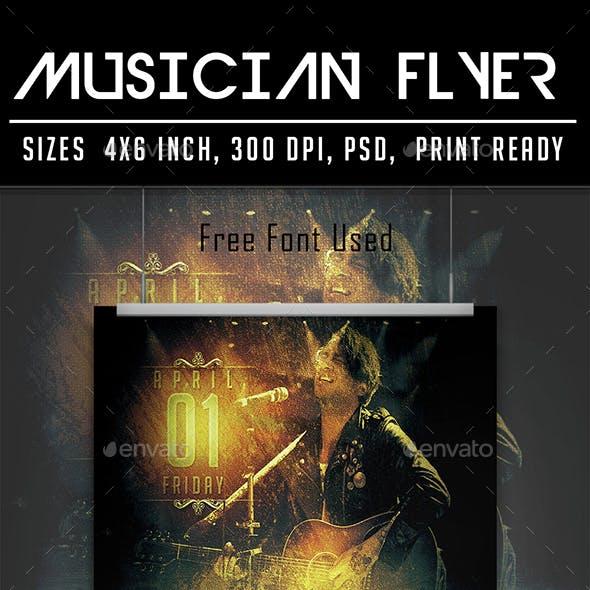 Musician Flyer