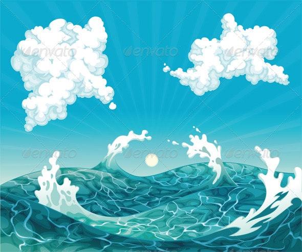 Waves - Landscapes Nature