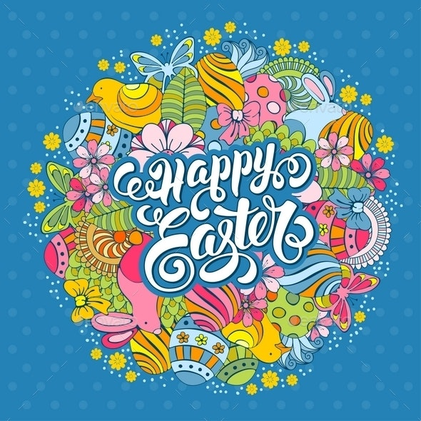 Easter Greeting Card - Religion Conceptual