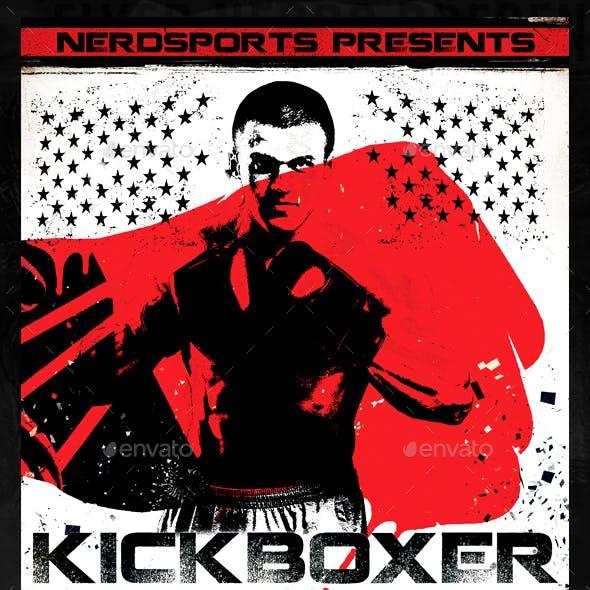 Kickboxer Fight Sports Flyer