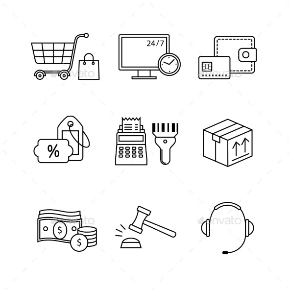 Product Retail Business Internet Commerce - Retail Commercial / Shopping