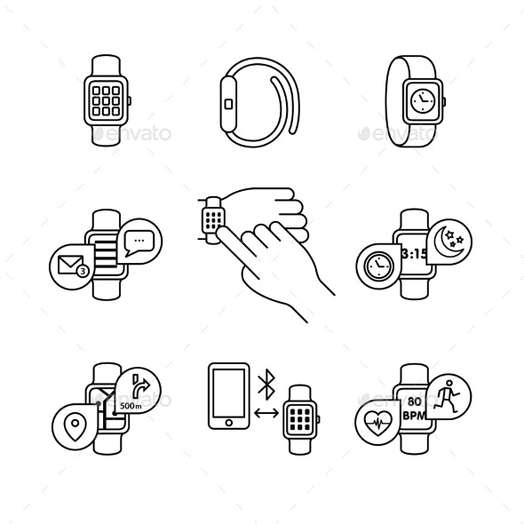Modern Smart Watches and Apps - Computers Technology