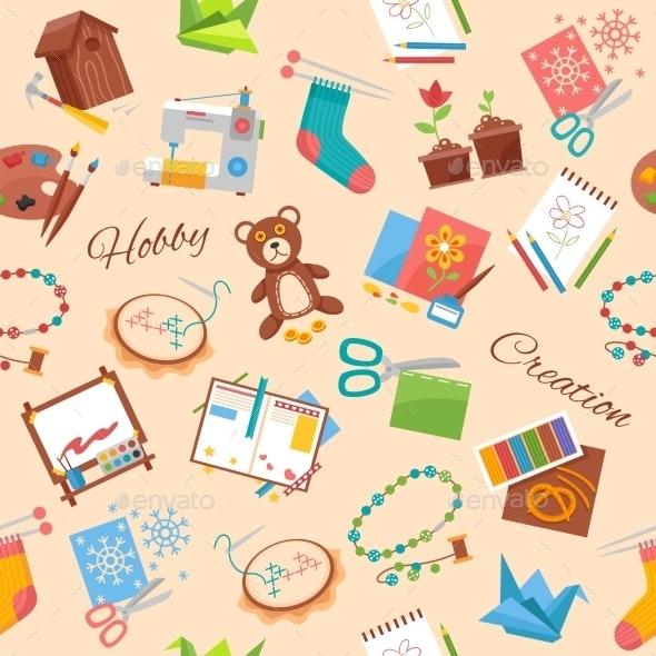 Hobby and Handicraft Pattern - Patterns Decorative