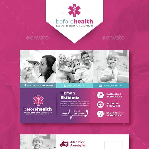 Health Postcard Templates