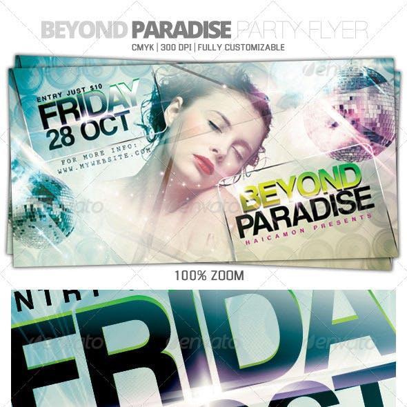 Beyond Paradise Flyer