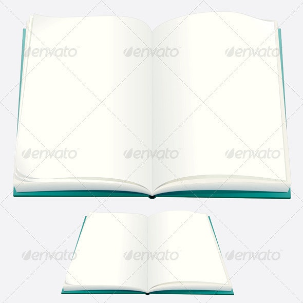 Blank Book - Man-made Objects Objects