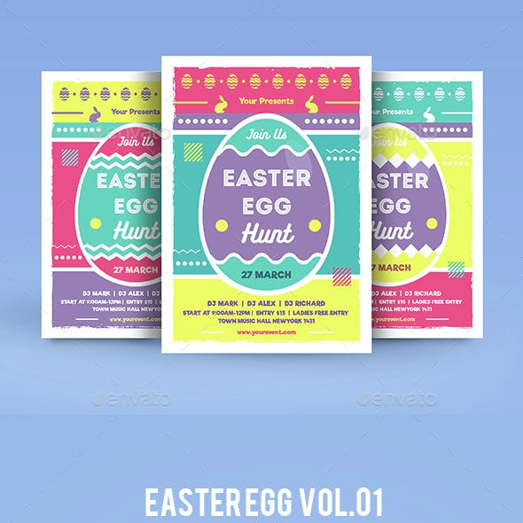 Easter Egg Flyer Vol.02