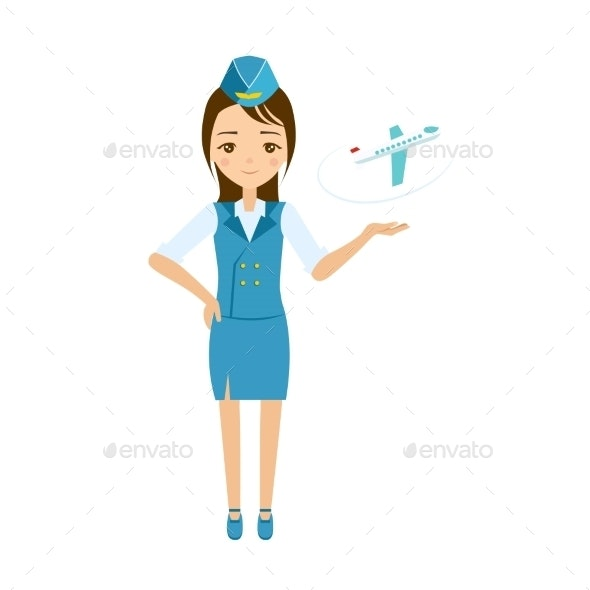 Stewardess - People Characters