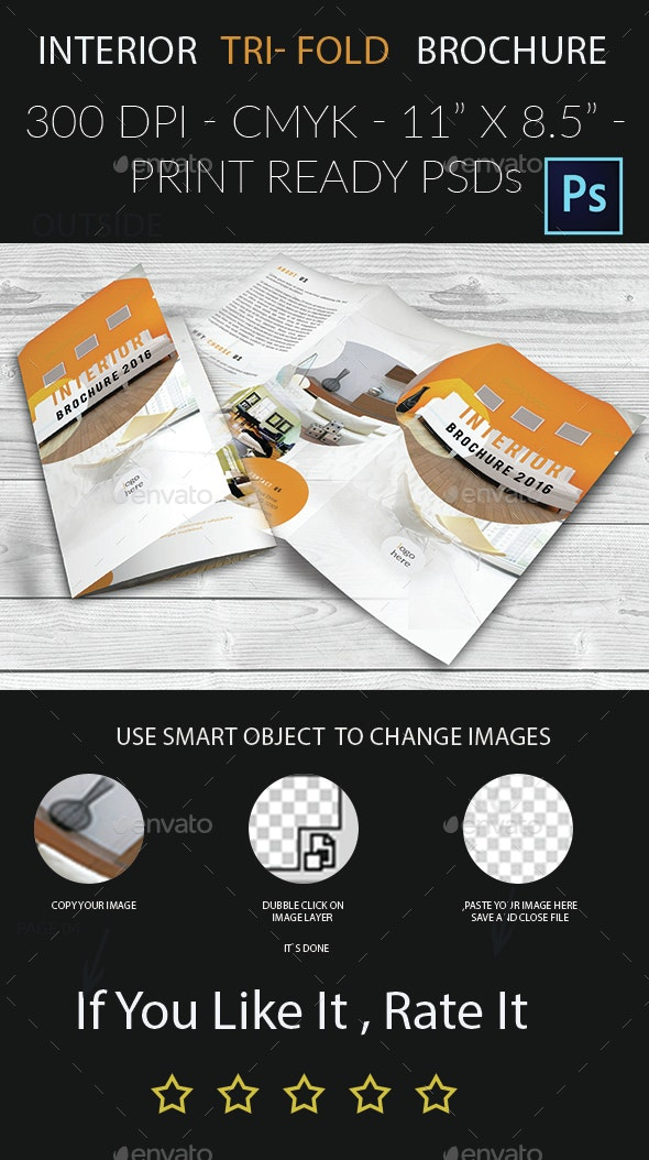Interior Tri- Fold Brochure - Corporate Brochures