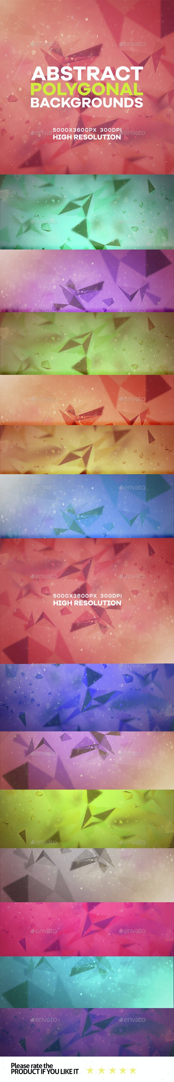 Abstract Polygonal Dust background - Abstract Backgrounds