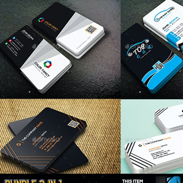 Bundle Business Card 3 in 1
