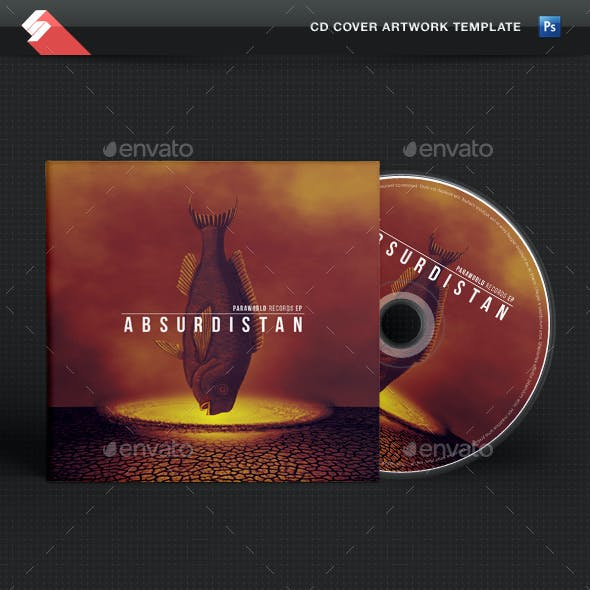 Absurdistan - CD Cover Artwork Template