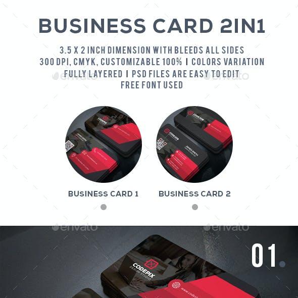 Shades Business Card Bundle