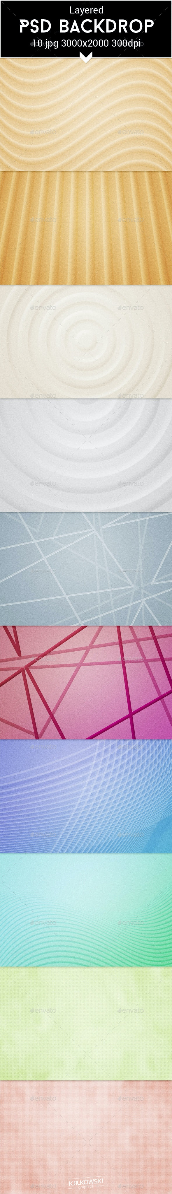 Harmony PSD Backdrop - Abstract Backgrounds