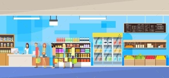 Shop Interior - Retail Commercial / Shopping