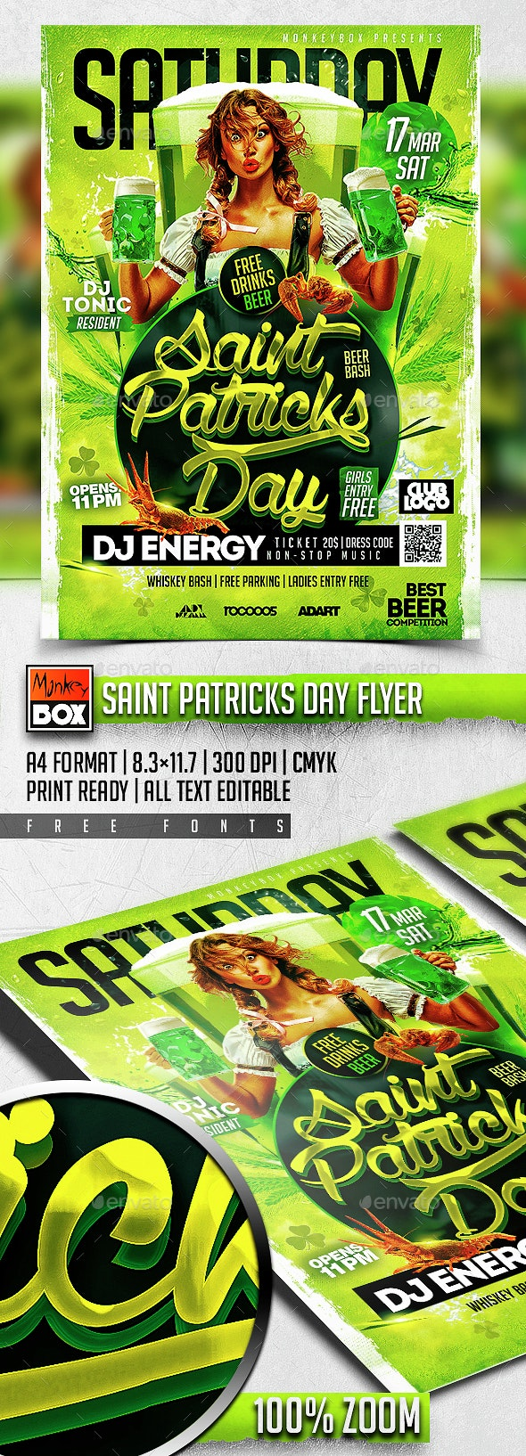 Saint Patricks Day Flyer - Flyers Print Templates