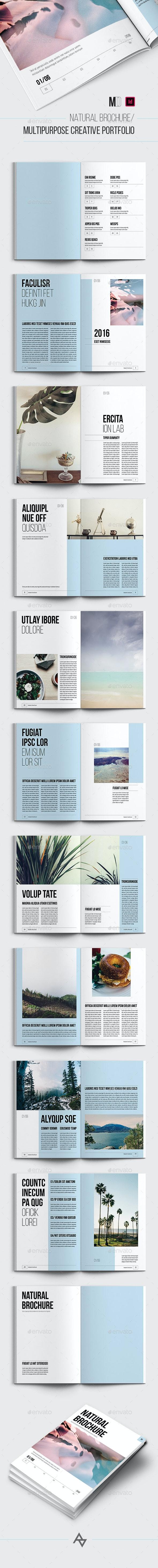 Natural brochure / Multipurpose Creative Portfolio - Portfolio Brochures