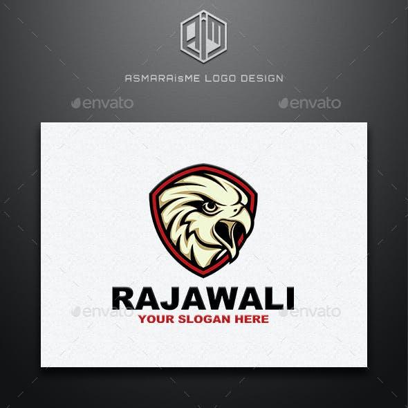 Rajawali - Eagle Shield Logo Template