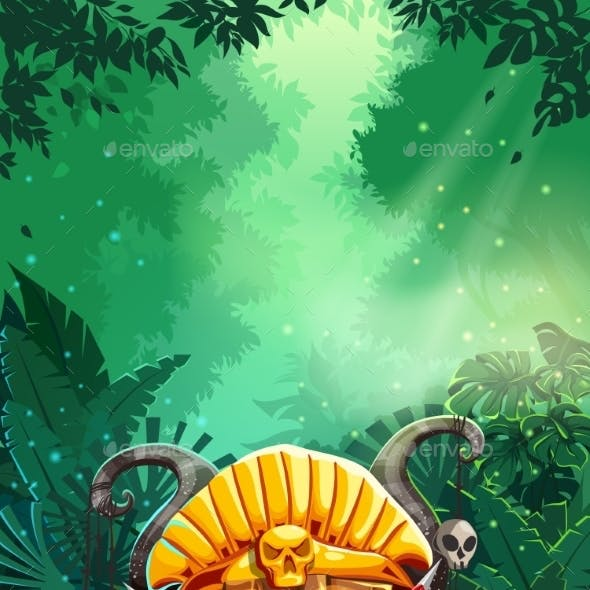 Jungle Shamans Mobile GUI Main Window